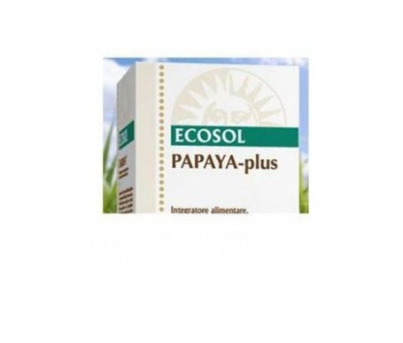 Papaya Plus Ecosol 60Cpr