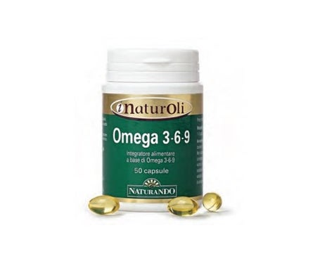Omega 3-6-9 50Cps