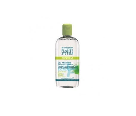 Plante System Aknorm agua micelar purificante 500ml