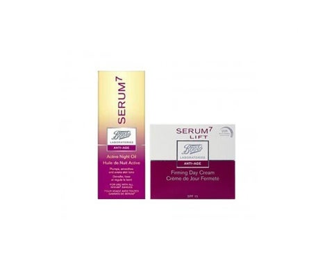 Pack Serum7 active night oil 30ml + Serum7 Lift firming day cream 50ml