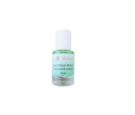 Bohema nail elixir 10 in 1 with myrrh and keratin extract 16ml