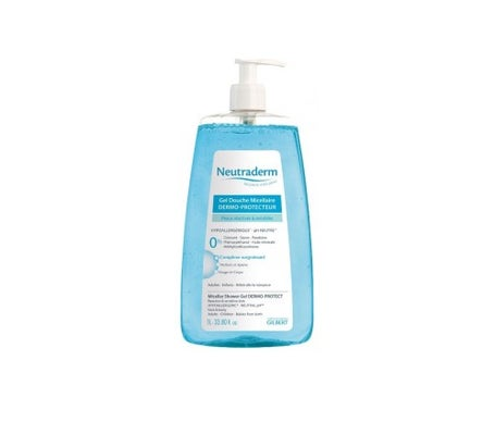 Neutraderm Micellar Shower Gel Dermo-Protector 1 Liter Pump Bottle
