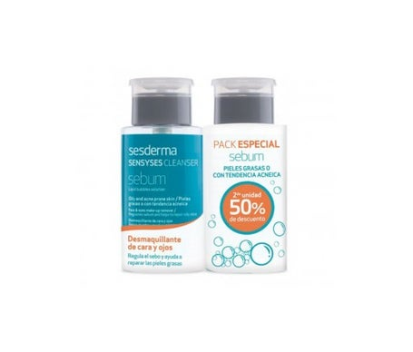 Sesderma Sensyses sebum cleanser lipoceutical 2x 200ml