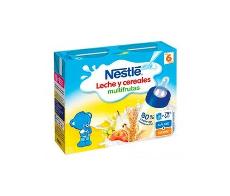 Tijolo Multifrutas Nestle 2x250 Ml