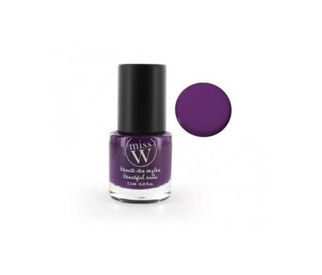Miss W Nail Polish Nø28 Dark Violet 7,5ml