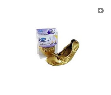 Scholl Party Füße Pocket Ballerina 35-36 Gold 1 Paar