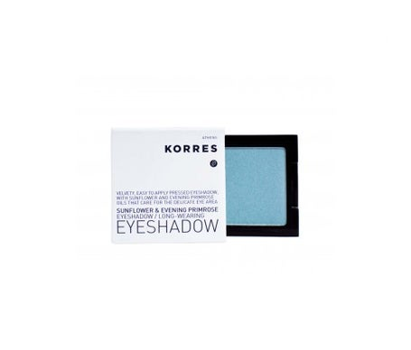 Korres eye shadow nº 43 light green 1