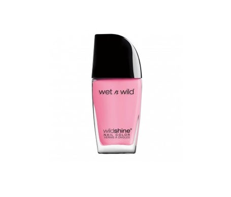Wetn Wild Wildshine Nail Color Nail Lacquer Tickled Pink