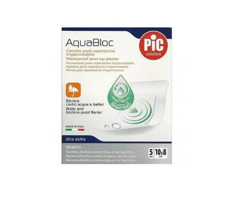 Pic Aquabloc Pós-operatório Antibacteriano Estéril 10 X 8 Cm 5