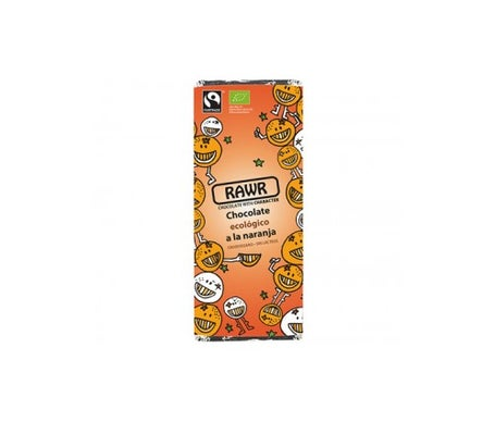 Rawr Chocolate crudivegano de naranja 60g