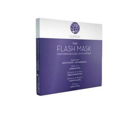 Segle maschera Flash Clinica 2 bustine doppie 4udsx4 ml