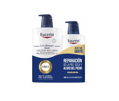 Eucerin® Urea-repair Plus Lotion 10% Urée 1000ml + 400ml