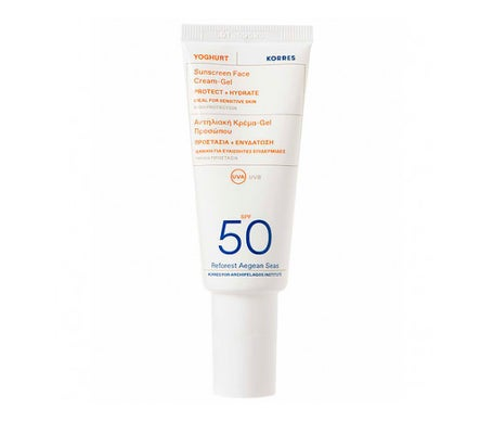 Korres Yogur Facial Gel Crema SPF50 40ml