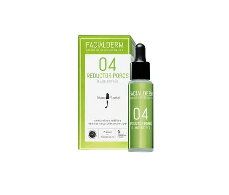 Facialderm Serum Booster 04 Poros e Redutor Antistress Facial 30 Ml