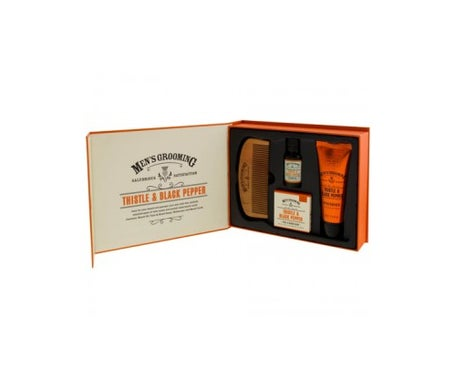 Men's Grooming Kit de regalo cara y barba