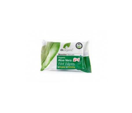 Dr.Organic Aloe Vera Wet Wipes 20 salviettine