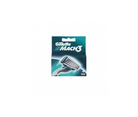 Gillette Mach3 Ersatzteile 4uds