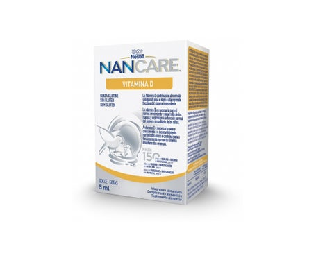 Nancare Vitamin D Drops 5Ml
