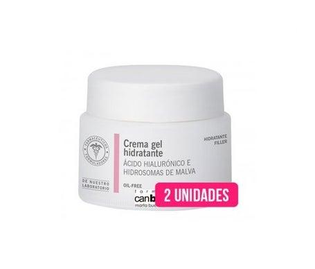 Creme gel hidratante - sem óleo pode boada 50 ml 2 pcs