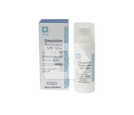 Anti-ageing emulsion SPF50+ colour 50ml