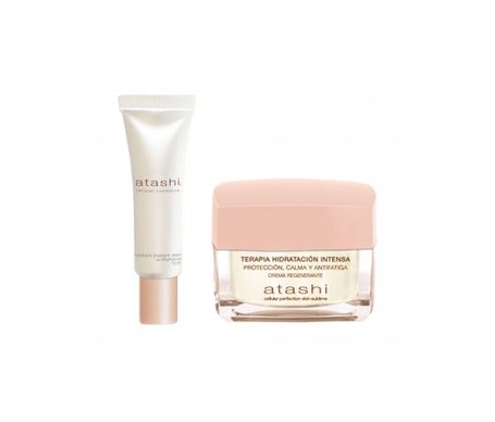 Atashi™ Intense moisturising cream therapy 50 ml + Skin Sublime Radiant Instant anti-fatigue gel 40ml