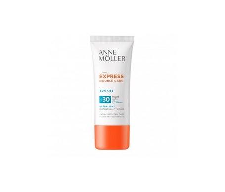 Anne Moller Express Double Care Spf30 Facial Protection Fluid 50