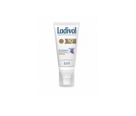 Ladival® anti-stain SPF50+ protective emulsion with colour 50ml
