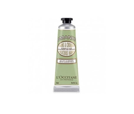 L'Occitane  Creme de Mãos  Almond Crunch 30ml