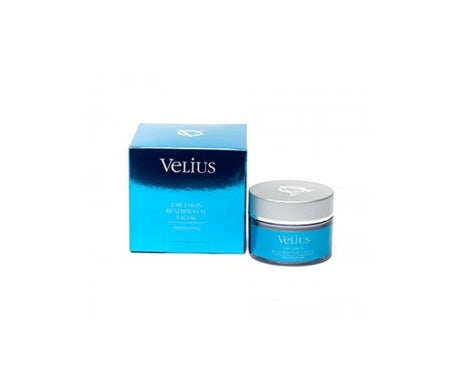Frasco de Emulsão Reafirmante Facial Velius 50ml
