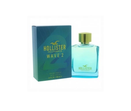 Hollister California Wave 2 For Him Eau De Toilette For Him 100m