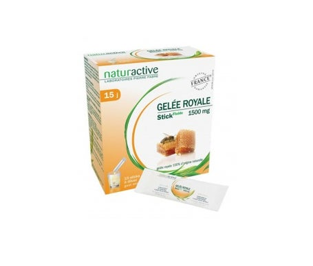 Naturactive Royal Jelly Miel Sabor Miel 15 barritas