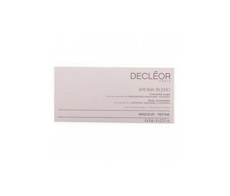 Decleor Aromessence Slim Concentrate 8x6ml Profissional