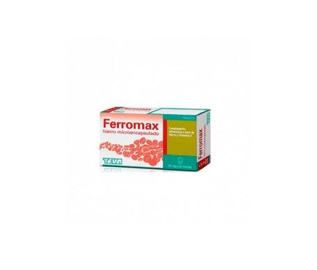 Ferromax Hierro Microencapsulado 30caps