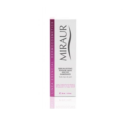 Miraur Essential sérum lifting tenseur tenseur yeux lifting 30ml