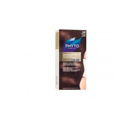 Phyto tinte color 4M castaño claro 1 Stück