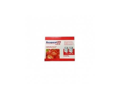 Soro oral de morango Recuperat-ion ™ SRO 250ml + 250ml