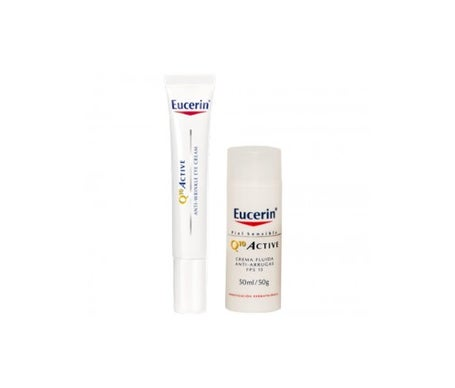 Eucerin™ Q10 Active fluido SPF15+ 50ml + eye contour 15ml