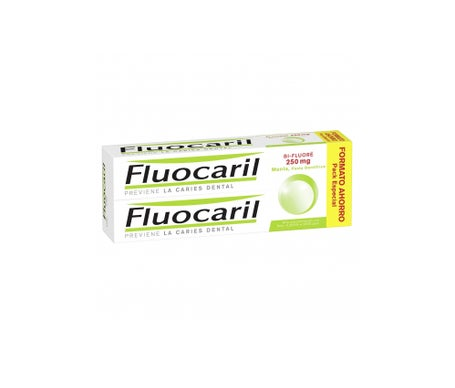 Fluocaril® Pack Bi-Fluoré 250- pasta dentífrica 2x125ml