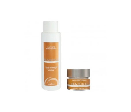 Basiko Pack Mature Cream 50ml + Mature Bodyderm 500ml