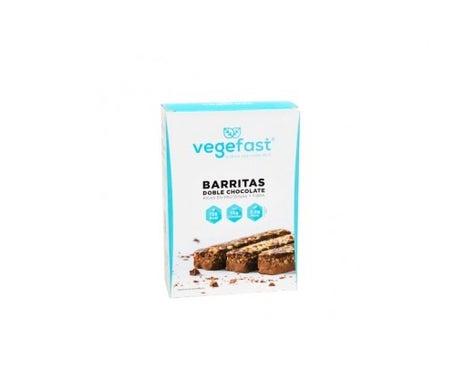 Vegefast hyper-proteic Riegel doppelte Schokolade 5uds