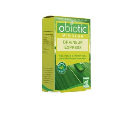 Efficare Obiotic Express Drainer Organic 45 Glules