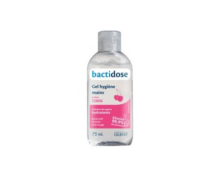 Gilbert Bactidose Hydroalcoholic Gel Cherry Fragrance 75ml