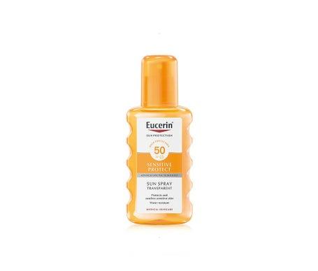 Eucerin Sun Spray Transparente SPF50 de 200ml + Loción pH5 de 200ml