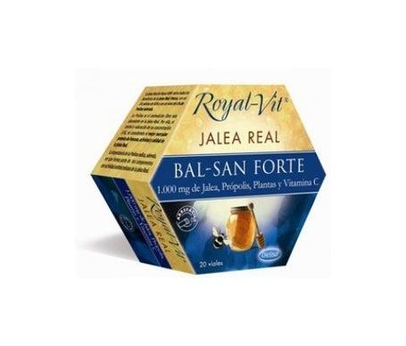 Dietisa Royal-vit Jalea Real Bal-san Forte 20 Viales