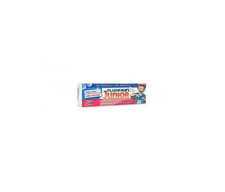 Fluor-Kin Junior dentífrico sabor fresa 75ml