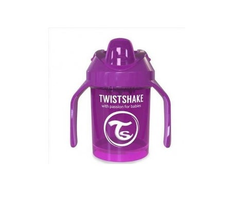 Twistshake Vaso Aprendizaje Mini Cup Lila +4m 230ml *