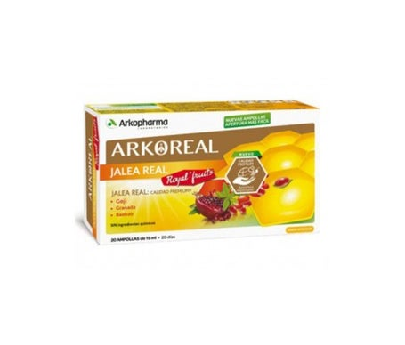 Arkopharma Jalea Real Royal Fruits