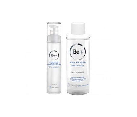 Be + Pack Emulsão Rich Skin Dry 50ml + Água Micelar 200ml