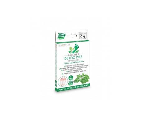 DLG Salus Patches Pies Artemisia Pack 4 Unidades