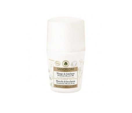 Sanoflore dodorante nuvola di freschezza roll-on 50ml